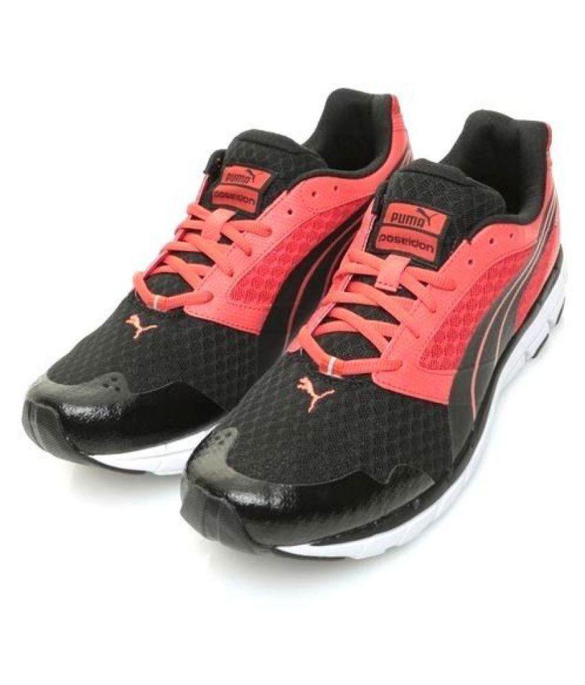 Contrato Reacondicionamiento escaramuza  Puma Poseidon Black Running Shoes - Buy Puma Poseidon Black Running Shoes  Online at Best Prices in India on Snapdeal