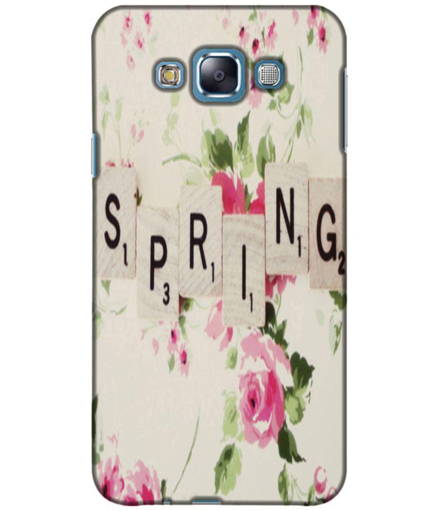 Samsung Galaxy E7 3D Back Covers By Printland