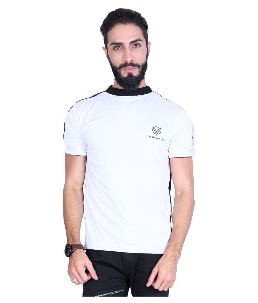 VERSATYL Multi Round T-Shirt Pack of 1