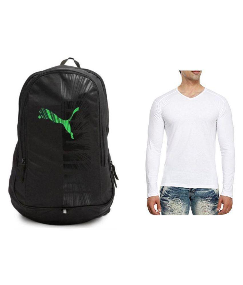 Inf White V-Neck T-Shirt