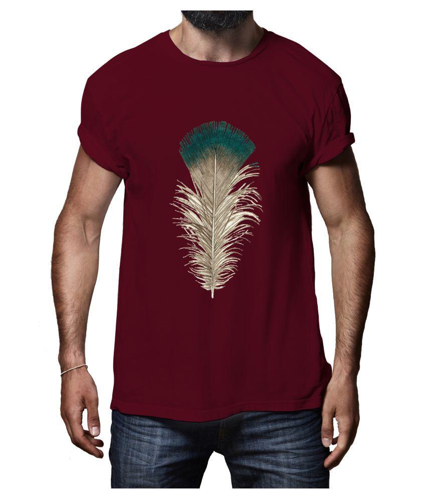 Rappersshop Maroon Round T-Shirt