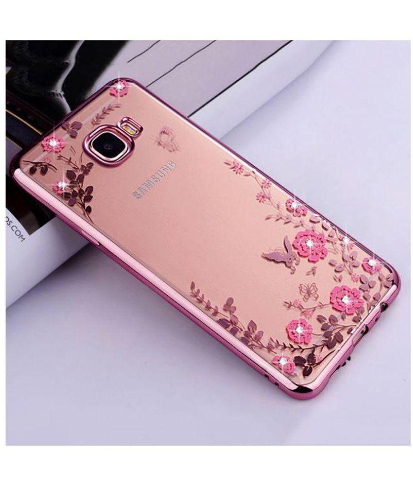 innovative design 93e98 9a4ab Samsung Galaxy J7 Prime Plain Cases FONOVO - Rose Gold