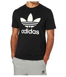 Adidas Black Round T-Shirt