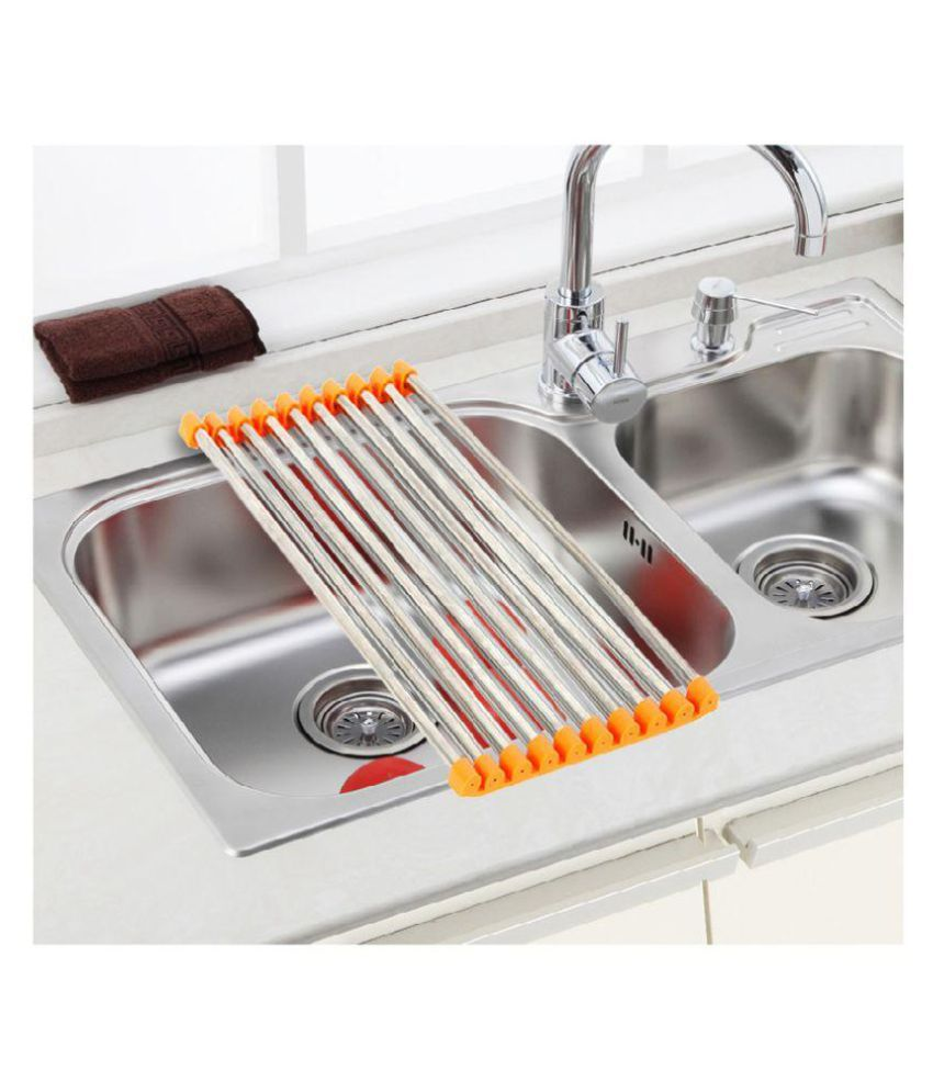 Buy Connectwide Stainless Steel Utensils Rack Online At