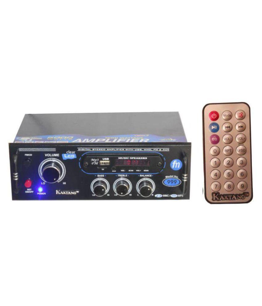 KAXTANG -999 Full Black Digital FM/AUX 5000 W 2-Channel Amplifier