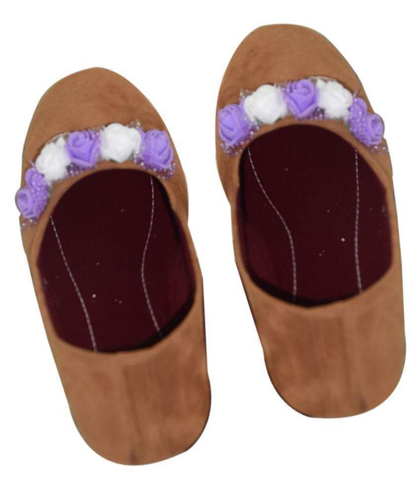 Magnus Brown Ethnic Footwear