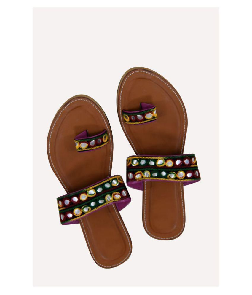 Magnus Multi Color Ethnic Footwear
