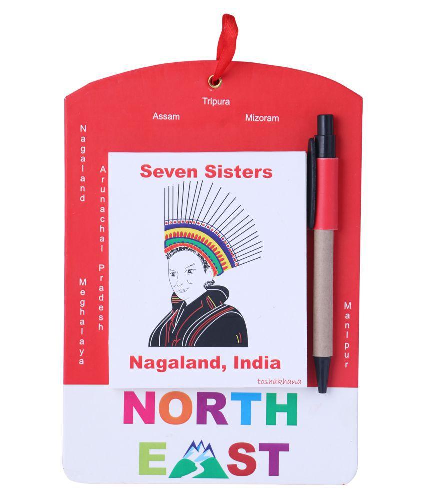 Toshakhana 313 Door Note / Things To Do Pad Nagaland North East India