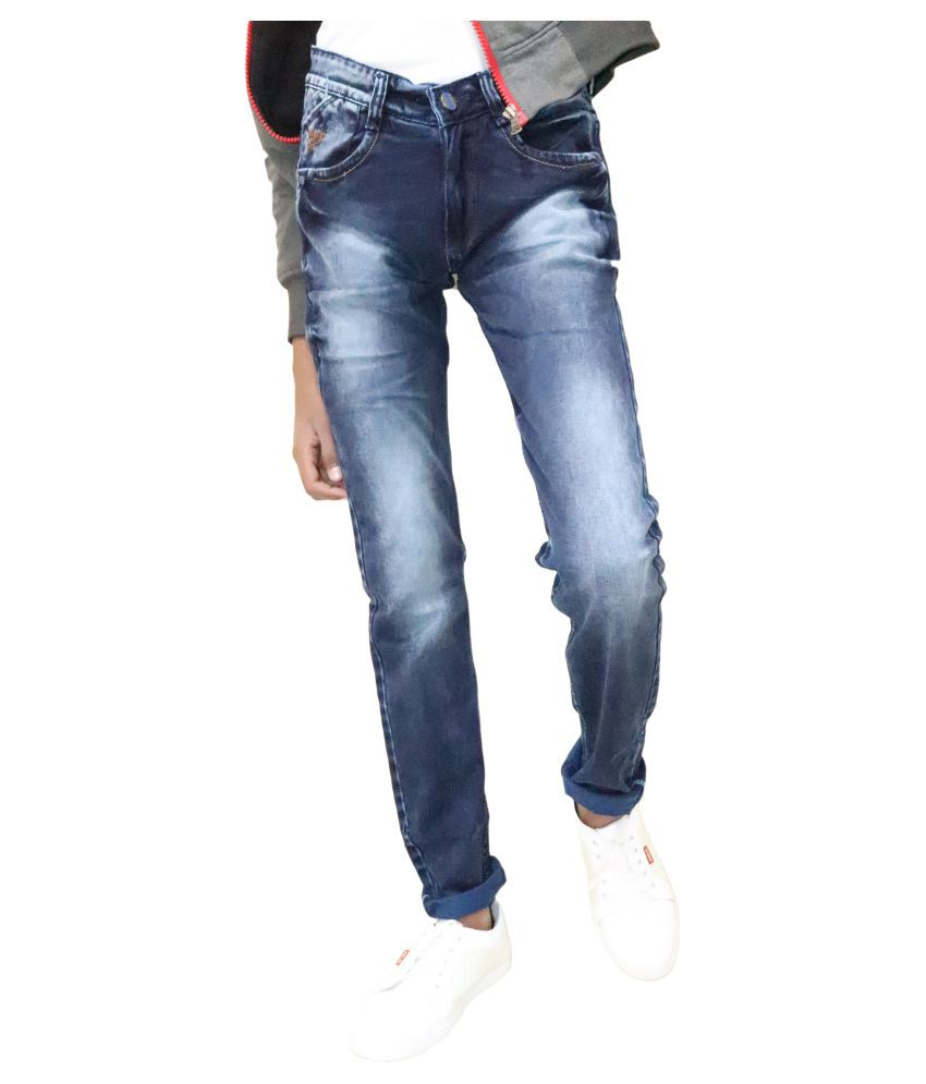 DREAM VISION Blue Slim Jeans