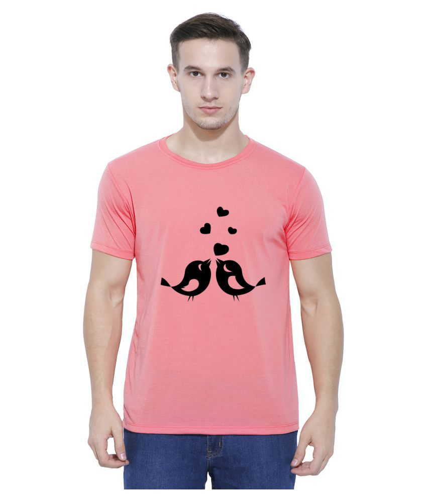 Snoby Pink Round T-Shirt Pack of 1