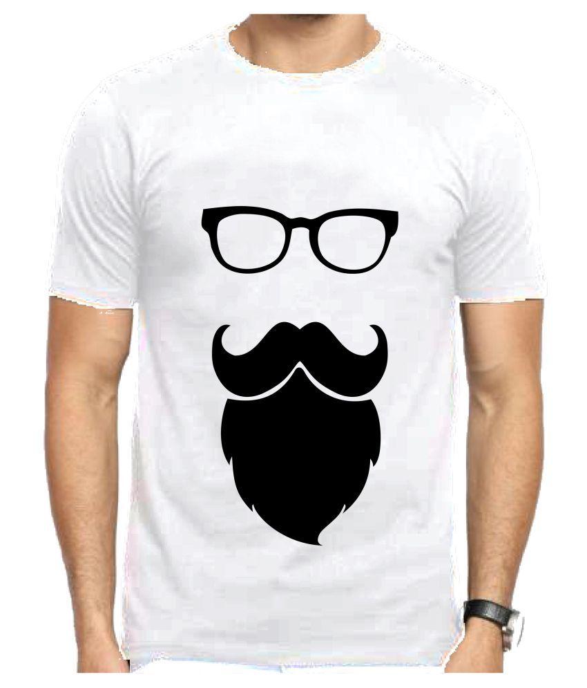 Fashionrack White Round T-Shirt Pack of 1