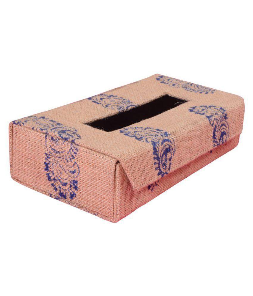 Indha Craft Car Tissue Dispenser Cardboard Brown