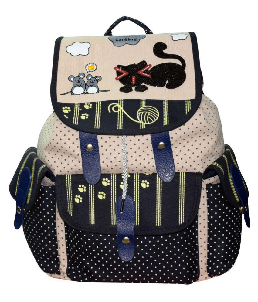 KEKEMI Mixed color School Bag for Girls
