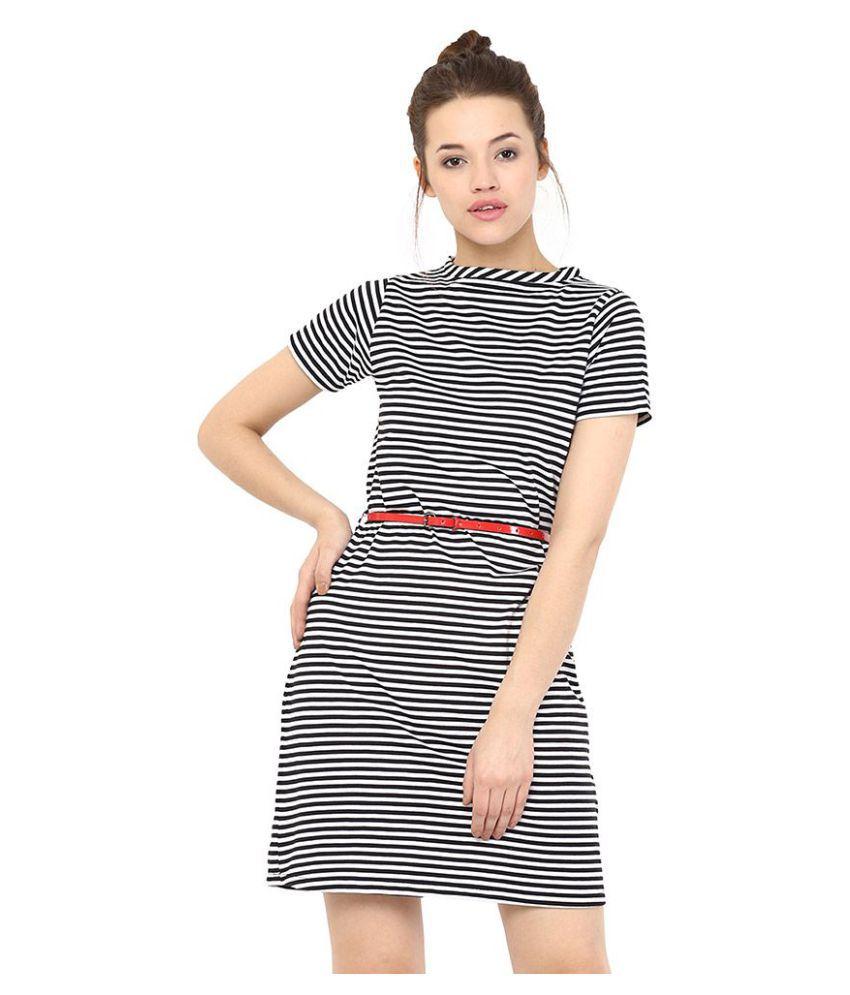 Miss Chase Cotton Multi Color Dresses