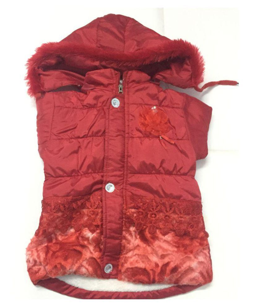 Red Colour Jackets for Baby Girls