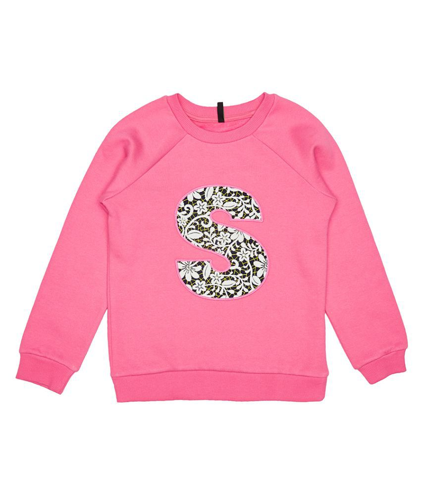 United Colors of Benetton Sweatshirt With S In Applique - 16A3044C161OI901XL