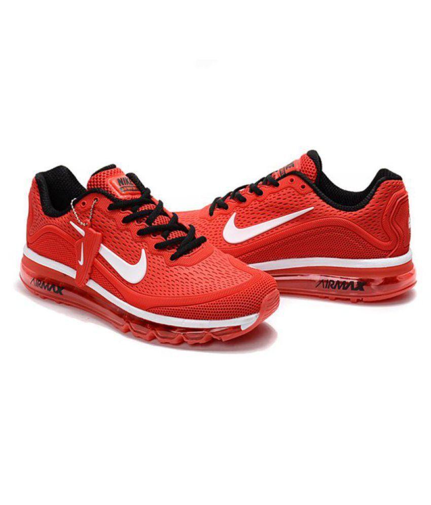 designer fashion d2df8 a75da ... Nike Air Max 2017 .5 Premium SP Red Running Shoes ...
