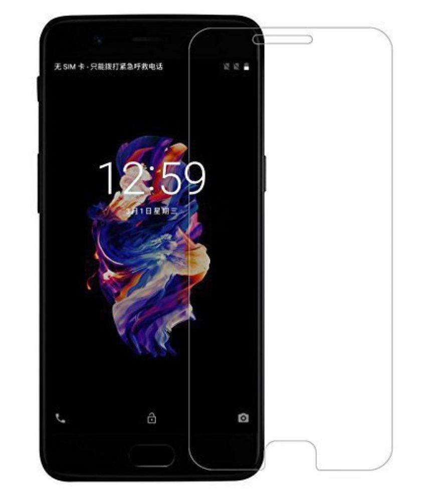 OnePlus OnePlus 5 Tempered Glass Screen Guard By Mobilekabazaar