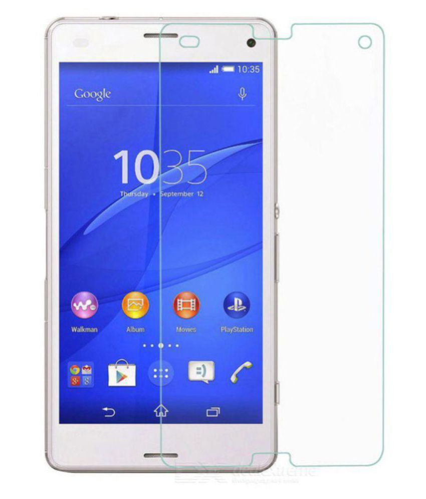 Sony Xperia Z3 Compact Tempered Glass Screen Guard By Mobilekabazaar