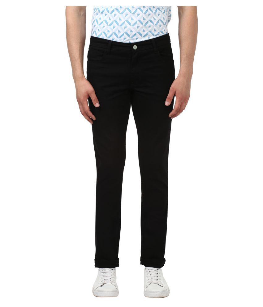 ColorPlus Black Slim Jeans