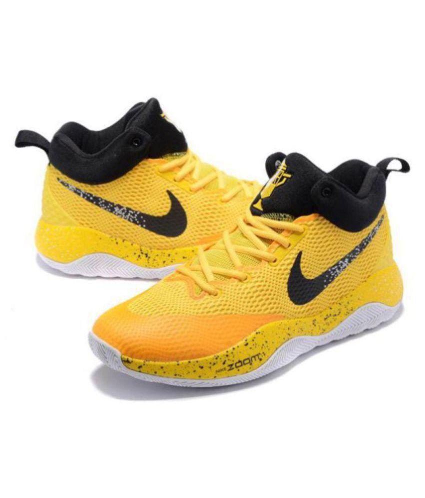 cce9cf78b91 Nike ZOOM REV EP Limited Edd Yellow Basketball Shoes - Buy Nike ZOOM ...
