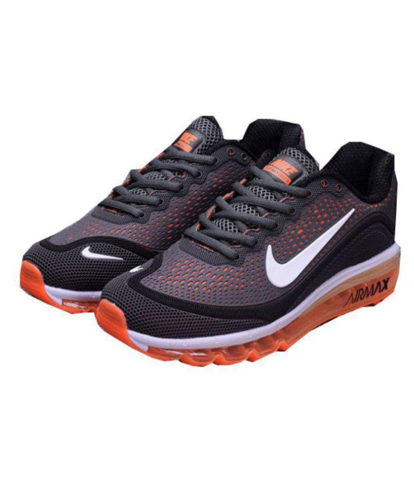 Nike Air Max 2018 Orange Running Shoes
