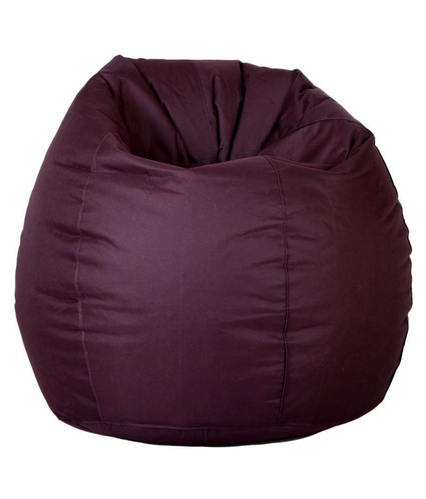 Comfy Bean Bags - Bean Bag - Size L - Without Beans - Cover Only - Maroon
