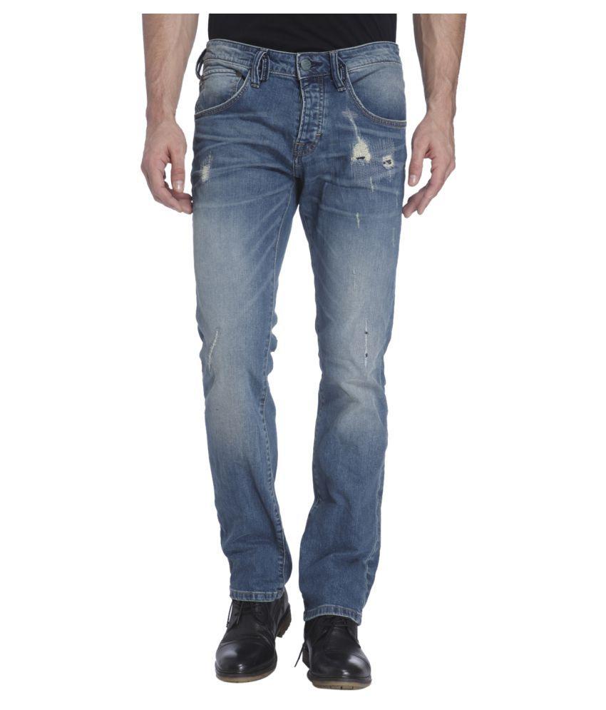 Jack & Jones Blue Regular Fit Jeans