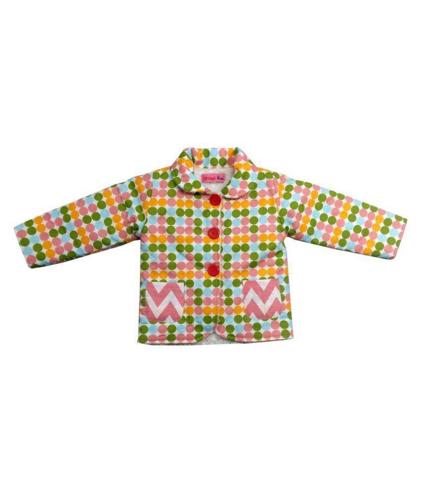 Always Kids Full Sleever Multi Dot Jaket