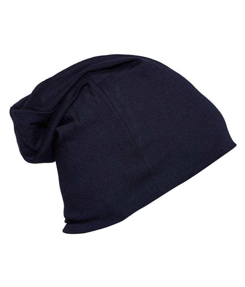 1f0122d77e5 Vimal Multicolor Blended Beanie Cap For Women(Pack Of 3)  Buy Online ...