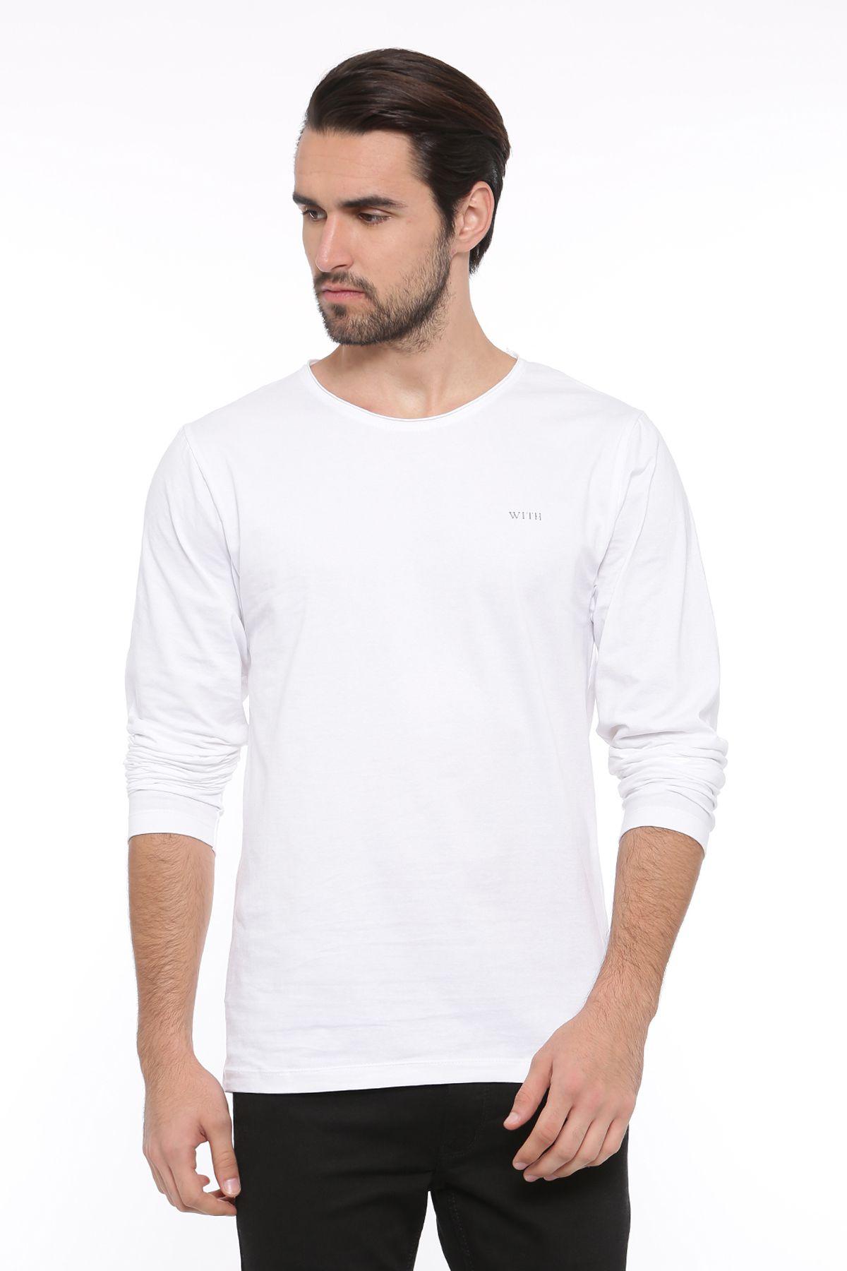 SHOWOFF White Round T-Shirt