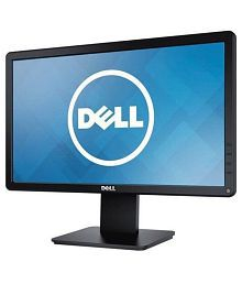 Dell D1918H 18.5 inch HD Backlit LED Monitor with VGA, HDMI & HDMI Cable (TFT, Black)