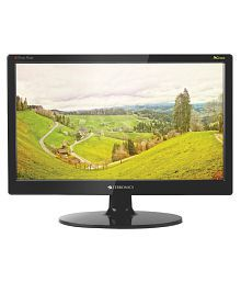 Zebronics ZEB16A 15.6 (39.6 cm) inch Full HD LED Monitor with VGA & Wall Mount (TFT, Black)