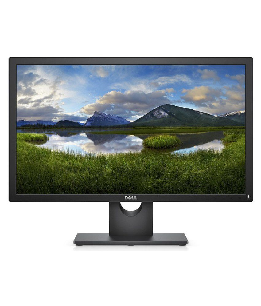 Dell E2218HN (54.6cm) 22 inch Backlit Full HD LED Monitor with VGA, HDMI, Wall Mountable (TFT, Black)