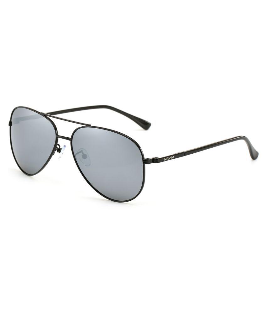 b52adb6710c Parim Grey Aviator Sunglasses ( 12005 B1 ) - Buy Parim Grey Aviator  Sunglasses ( 12005 B1 ) Online at Low Price - Snapdeal