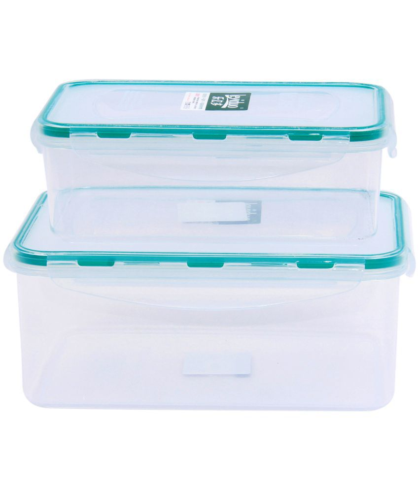 OPALEENA KIT17209 Polycarbonate Food Container Set of 2