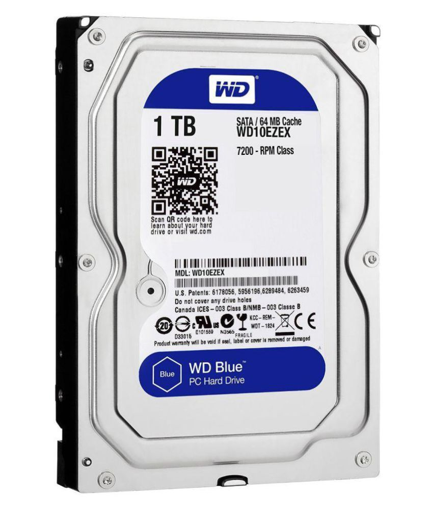Western Digital (WD10EZEX) 1 TB Internal Hard Drive Internal Hard drive