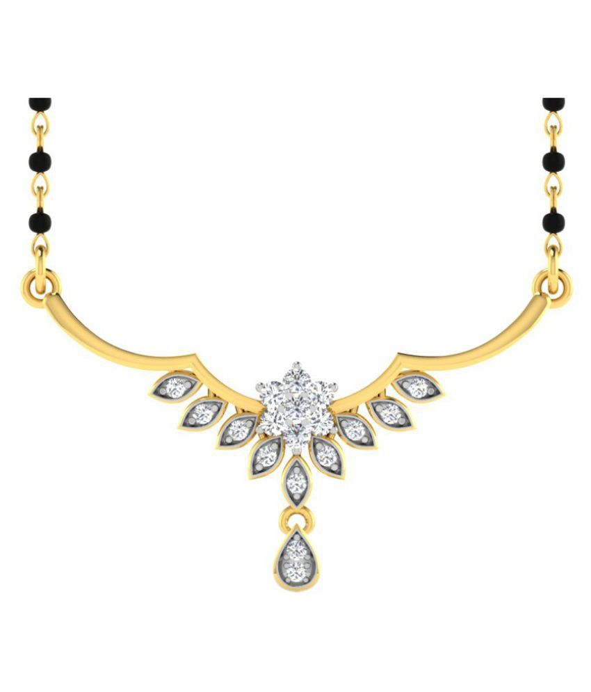 His & Her 14k Yellow Gold Mangalsutra