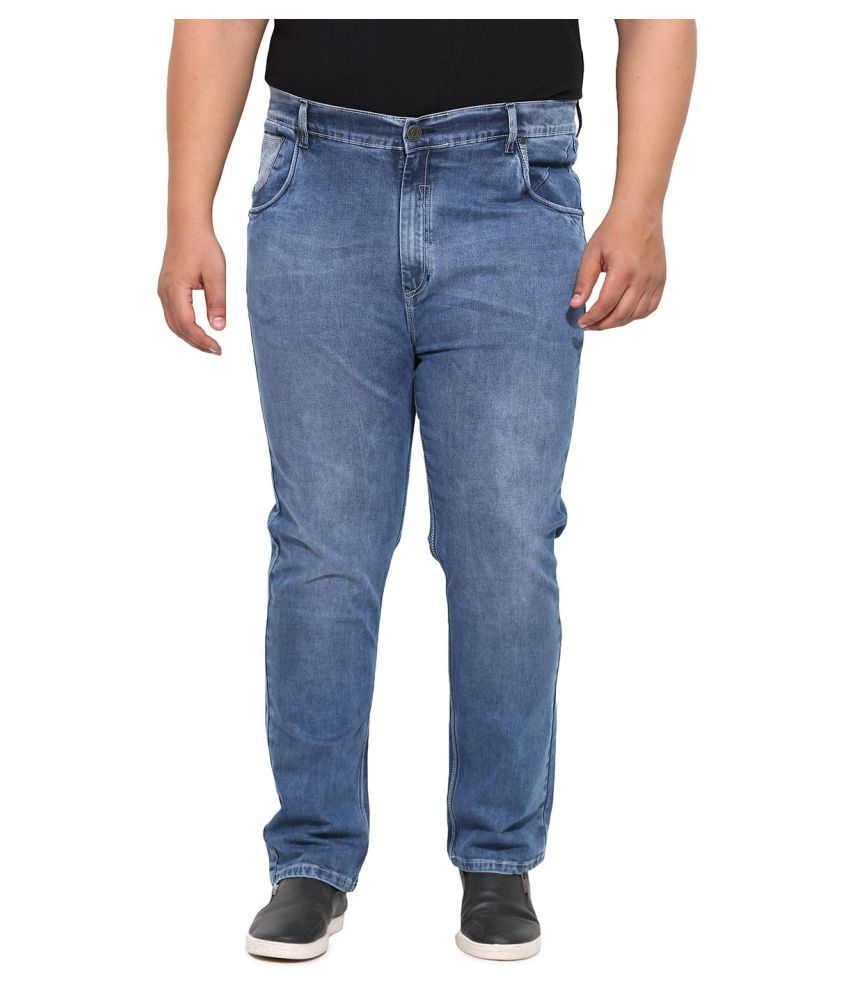 John Pride Blue Regular Fit Jeans