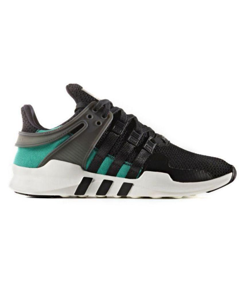 d19e76bbe80 Adidas EQT Support ADV Core Black Green Running Shoes - Buy Adidas EQT  Support ADV Core Black Green Running Shoes Online at Best Prices in India  on Snapdeal