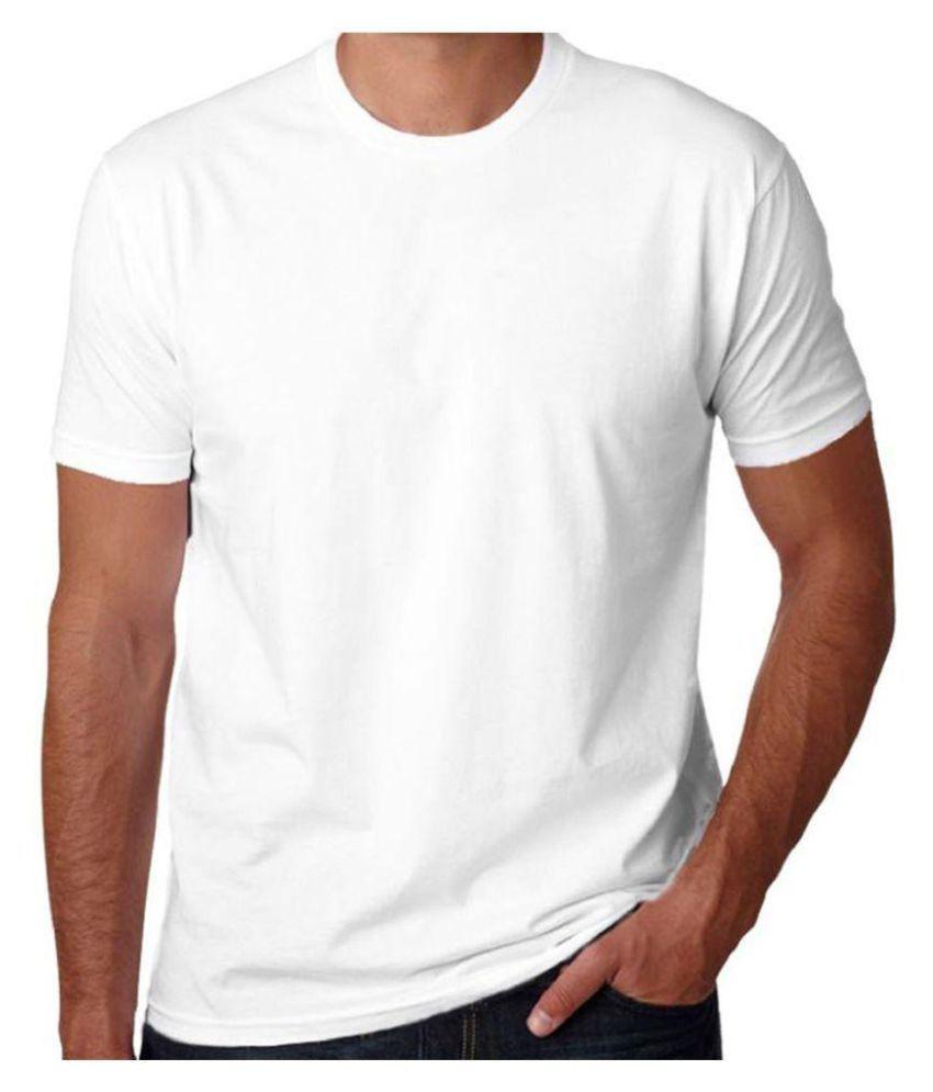 Gingercrush White Round T-Shirt