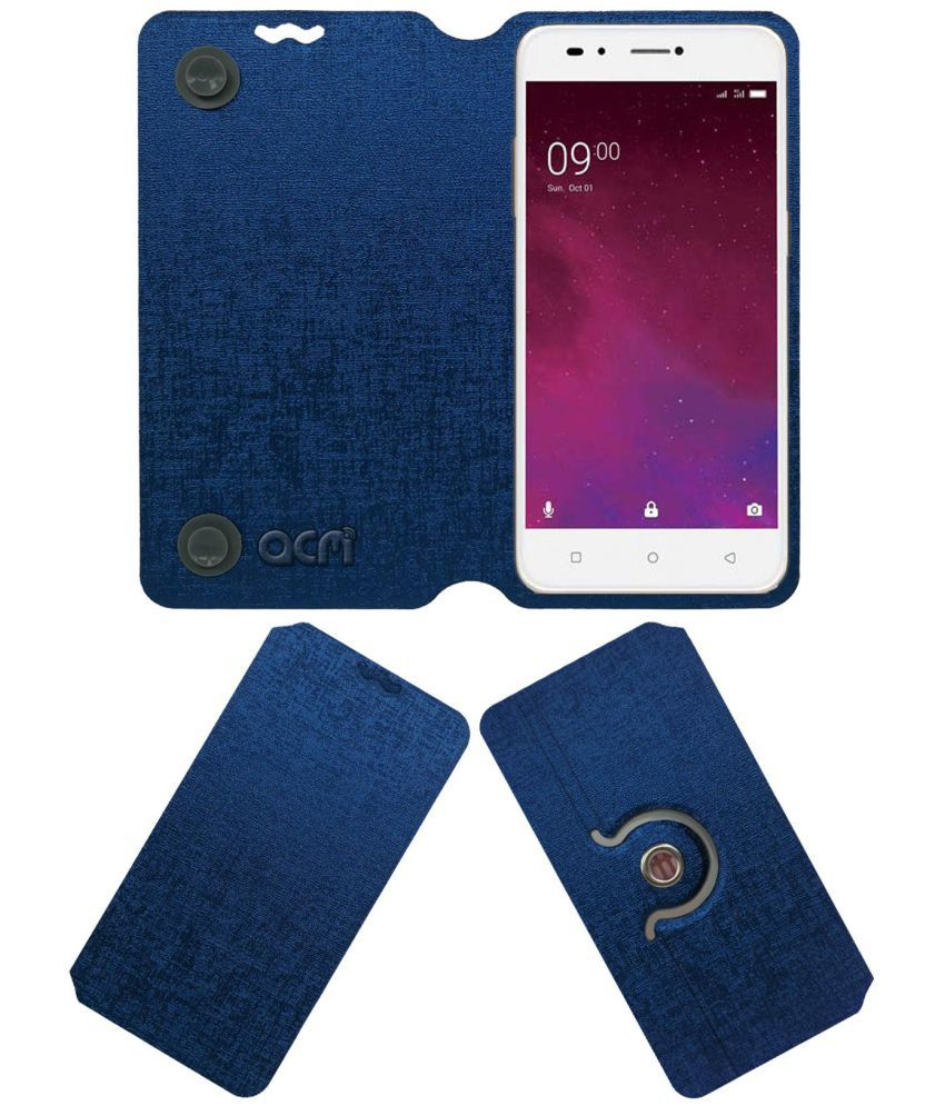 best sneakers 068fe ed88a Lava Z60 Flip Cover by ACM - Blue
