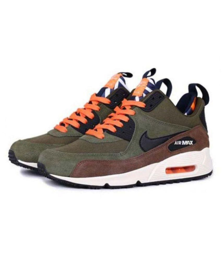 premium selection bc066 5e683 ... Nike AIRMAX 90 2018 Multi Color Running Shoes ...