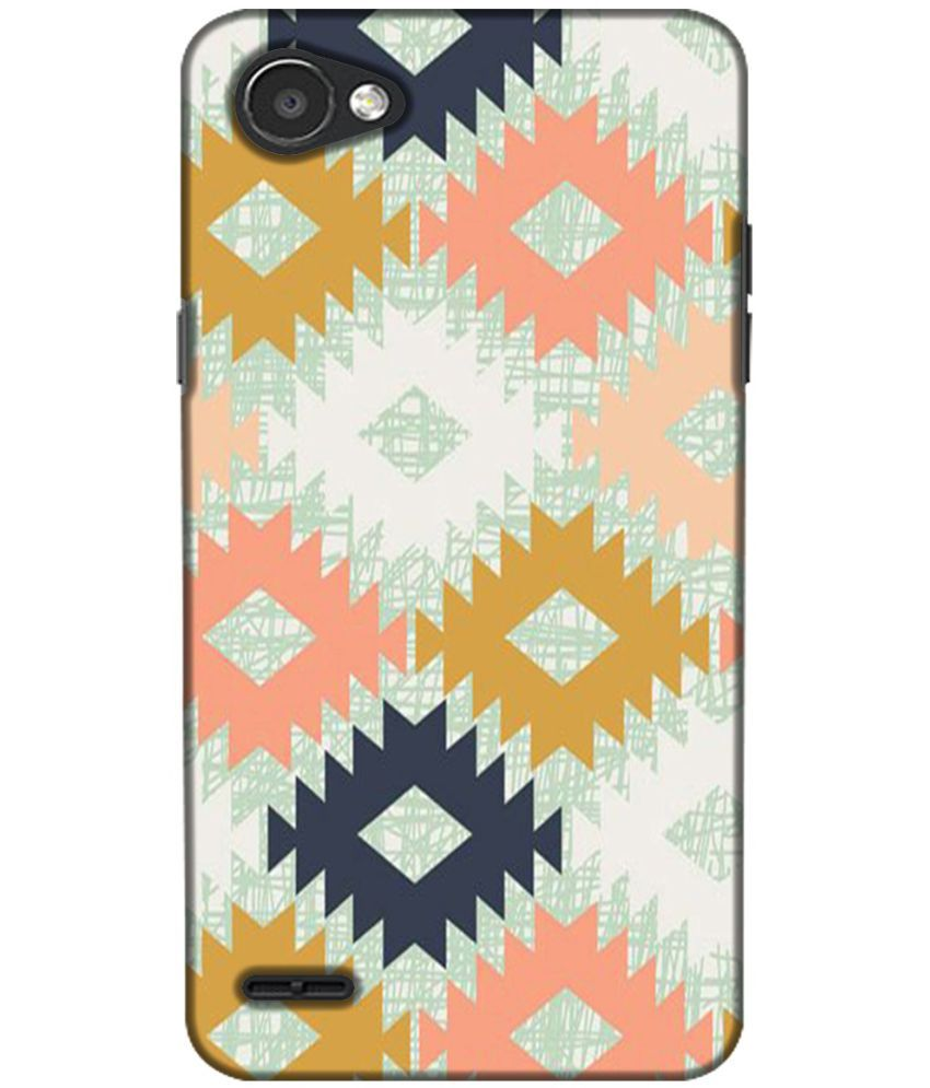 LG Q6 3D Back Covers By Design Worlds