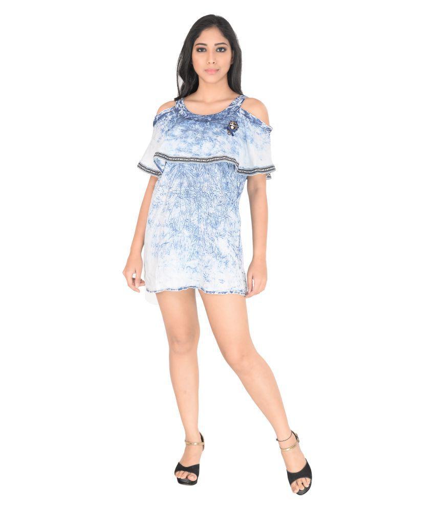 bc58eec5f93 Markaz Denim Navy Dresses - Buy Markaz Denim Navy Dresses Online at Best  Prices in India on Snapdeal