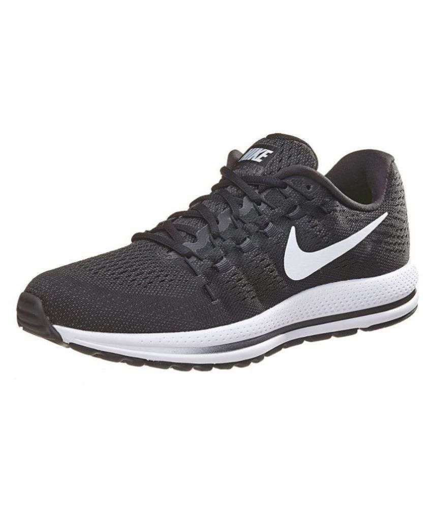 new styles 27bd8 e0b52 Nike Zoom VOMERO 12 Black Running Shoes