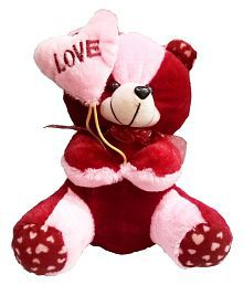 328849e2dfe Quick View. HEART BALLOON TEDDY SOFT TEDDY BEAR LOVE VALENTINE COUPLE BIRTHDAY  GIFT