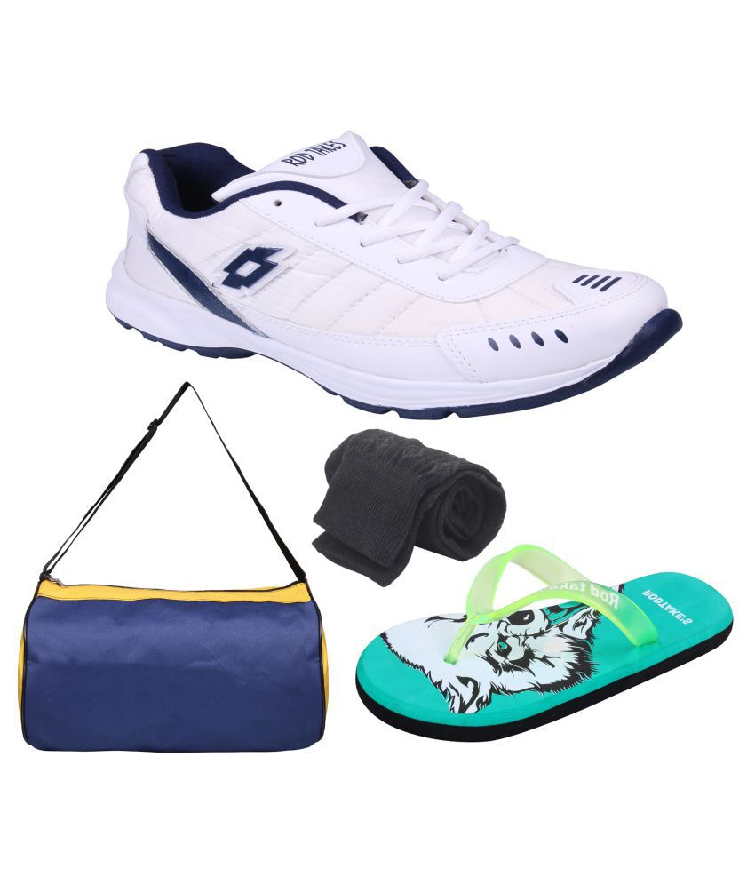 Rod Takes Luto bo Sports Accessories and Running Shoes White Buy