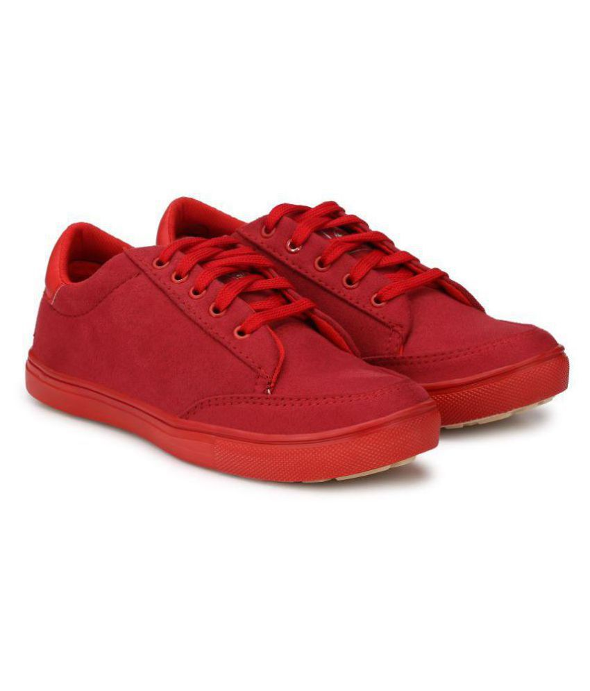 c0fcbaf920 Big Fox Classic suede Q3 Sneakers Red Casual Shoes - Buy Big Fox Classic  suede Q3 Sneakers Red Casual Shoes Online at Best Prices in India on  Snapdeal