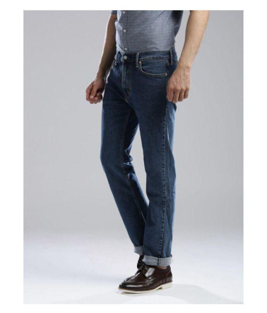 Levis Jean Navy Blue Slim Jeans